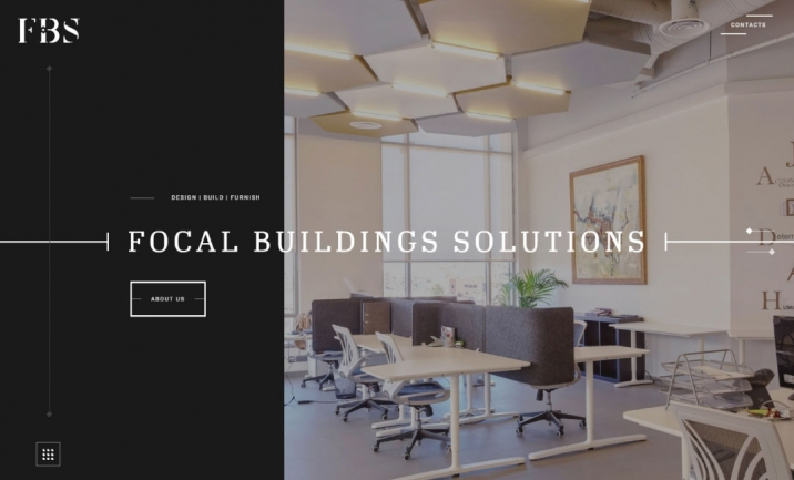Focal Buildings Solutions website