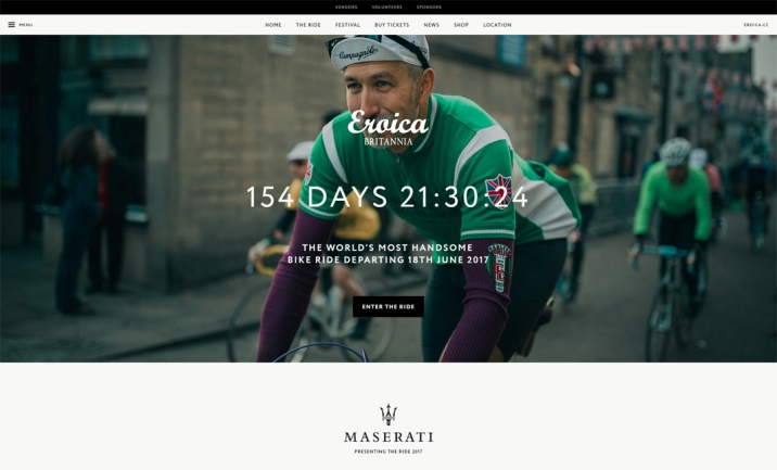 Eroica Britannia website