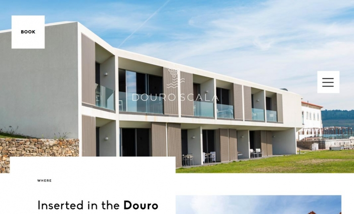 Douro Scala Hotel website
