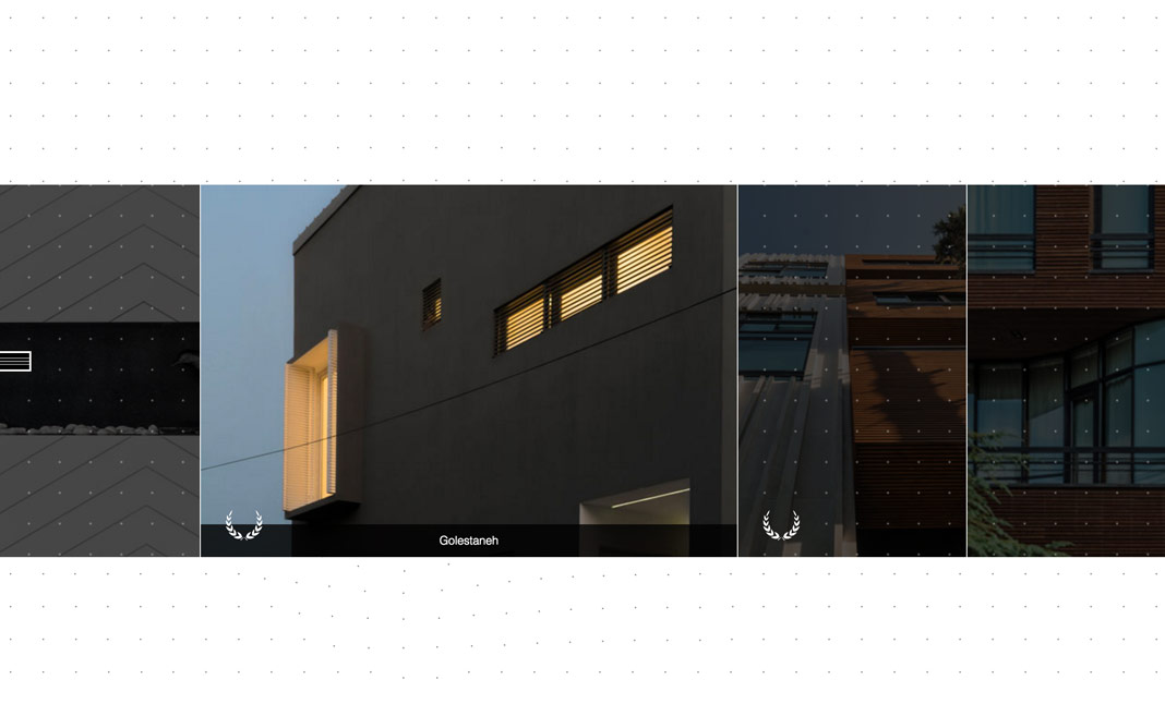 Rooydaad Architects website