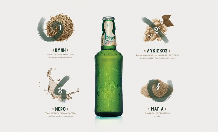Fischer Beer  website