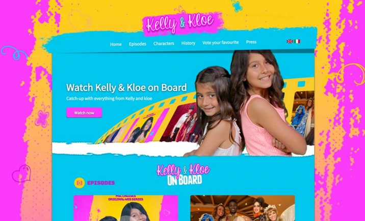 Kelly and Kloe website