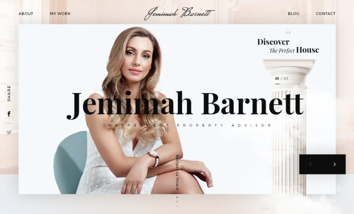 Jemimah Barnett website