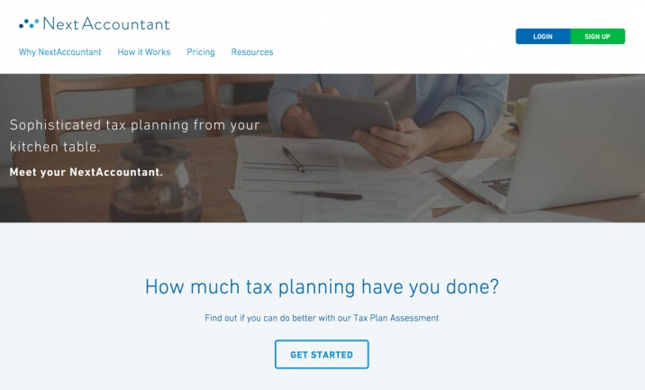 NextAccountant website