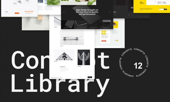 Concept Library website