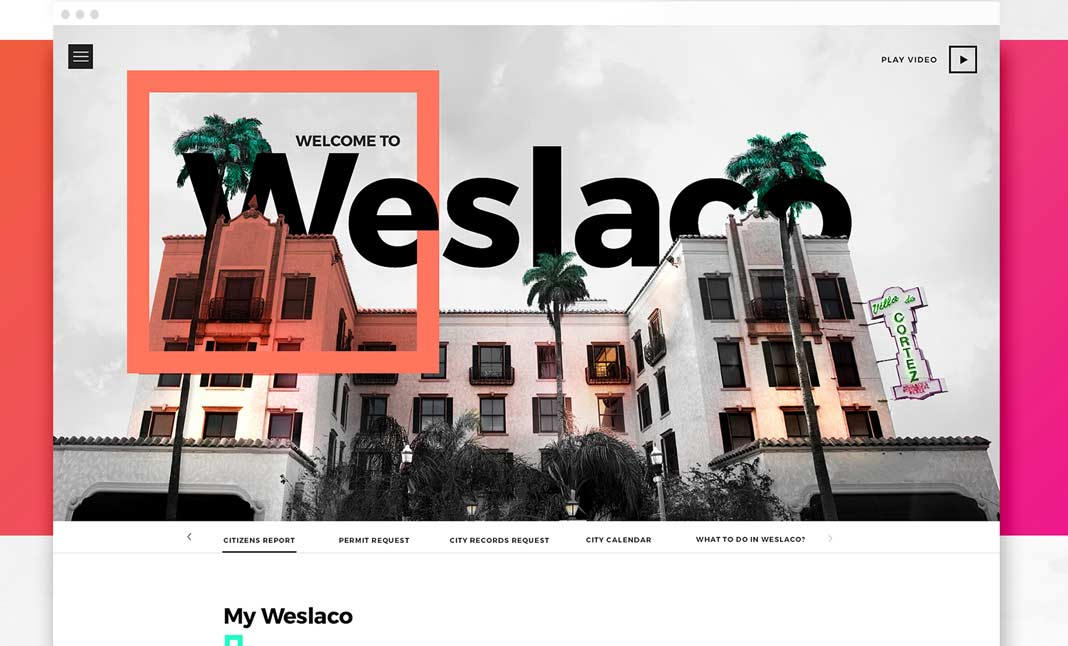 City of Weslaco website
