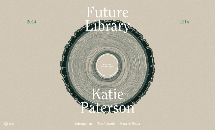 Future Library 2014 � 2114 website