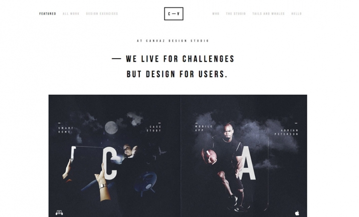 Canvaz Design Studio website