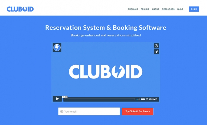 Cluboid website