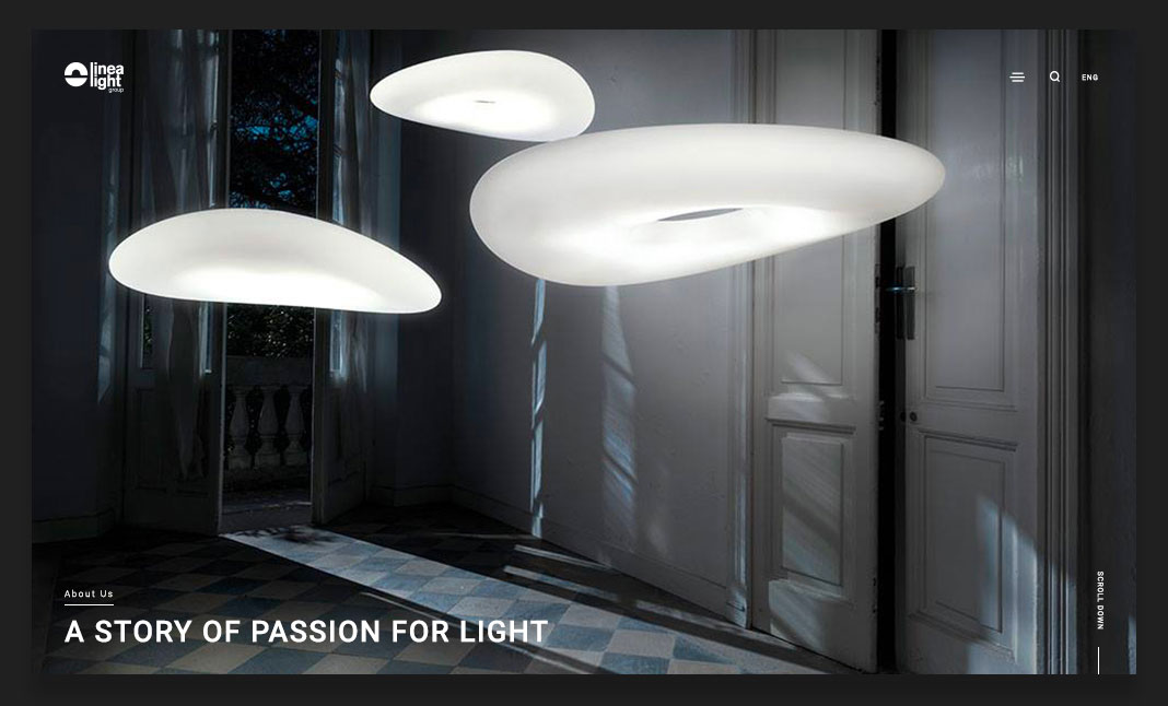 Linea Light website