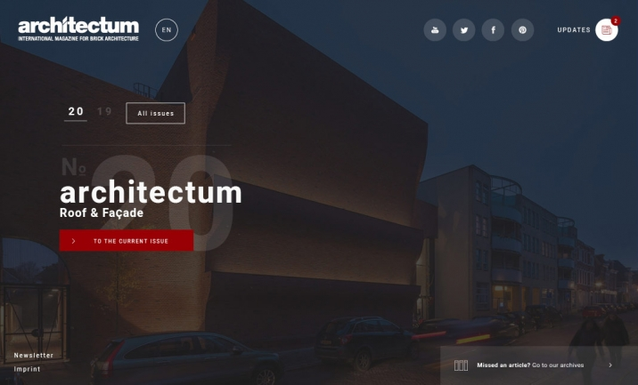 Architectum website
