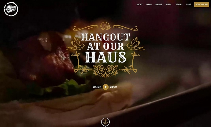 The Smoke Haus website