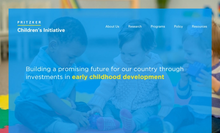 Pritzker Children's Initiative website