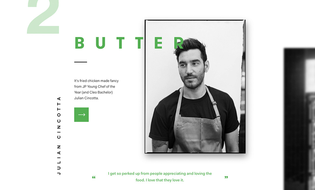 Kitchens of UberEATS website