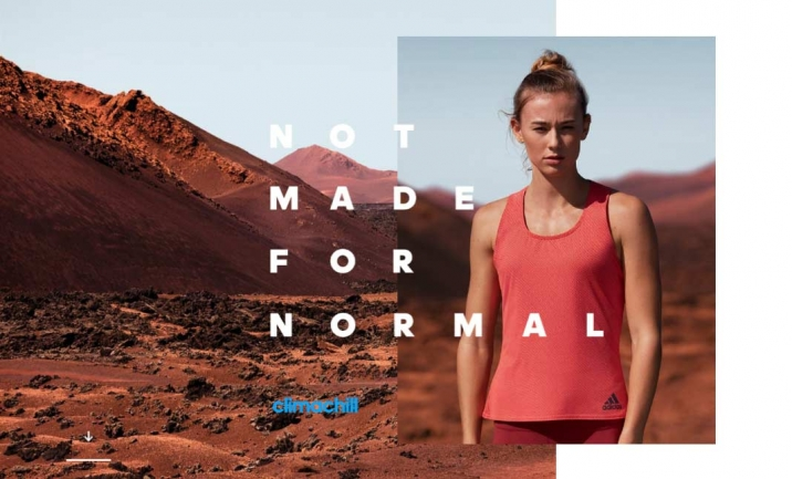 adidas Climachill 2017 website