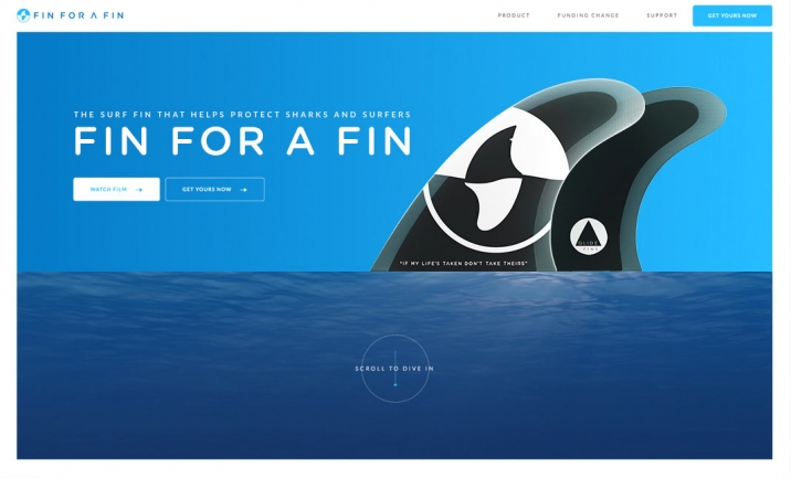 FIN FOR A FIN website