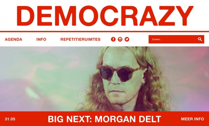 DEMOCRAZY music club website