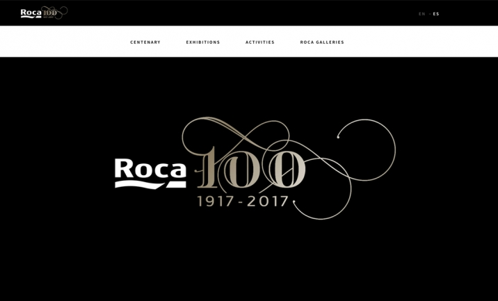 Roca Gallery website
