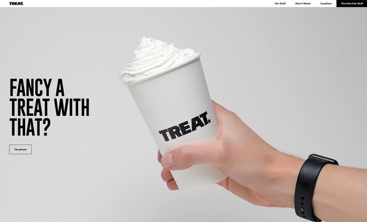 Treat website