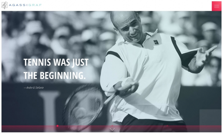 Agassi Graf website