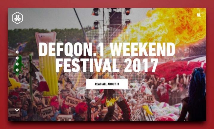 Defqon.1 website