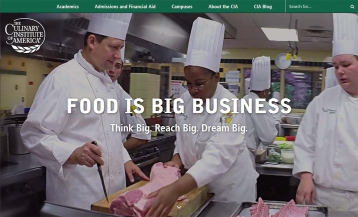 The Culinary Institute of Americ website