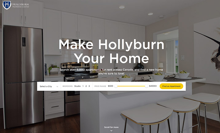Hollyburn website