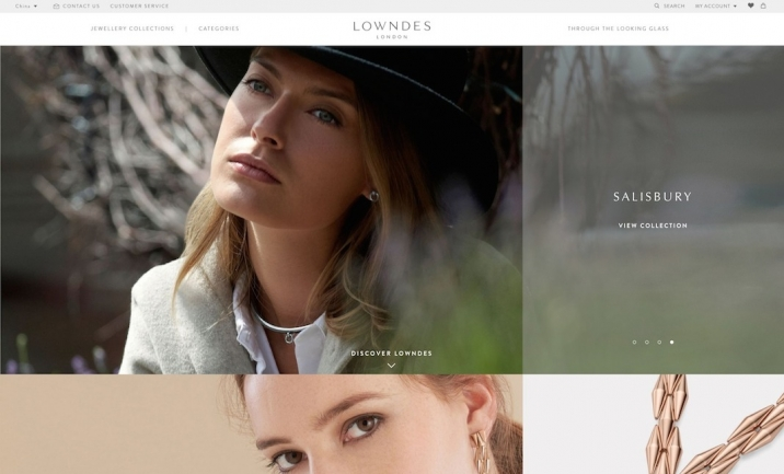 Lowndes London website