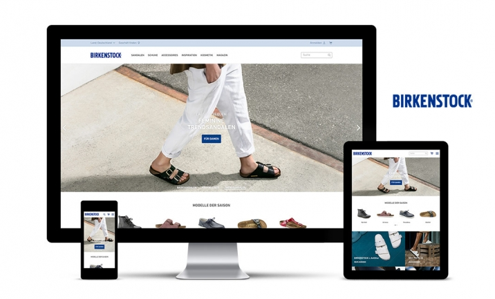 BIRKENSTOCK website