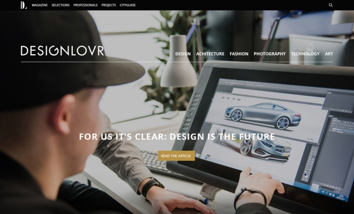 DESIGNLOVR website