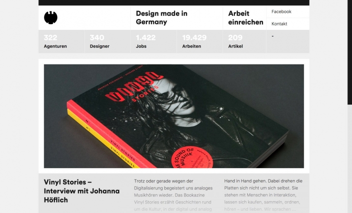 Design made in Germany website