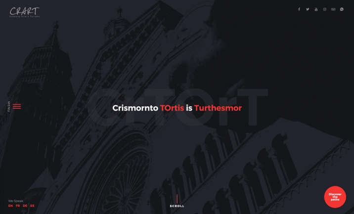 CrArT -  Cremona Art and Tourism website