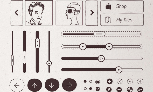 20 Inspiring UI Examples + 10 UI PSD Freebies