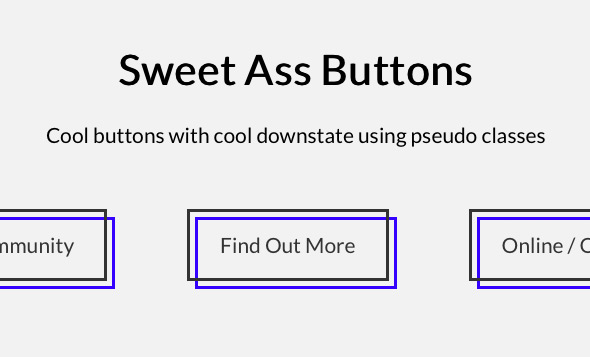 Sweet Ass Buttons