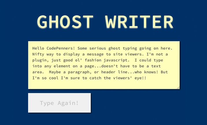 17 Latest CSS & JS Tuts & Experiments