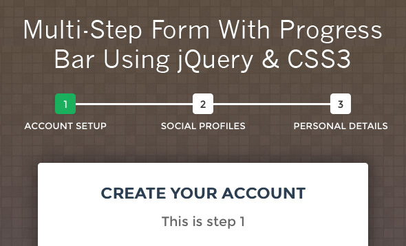 Progress Bar With Steps In Pure Css