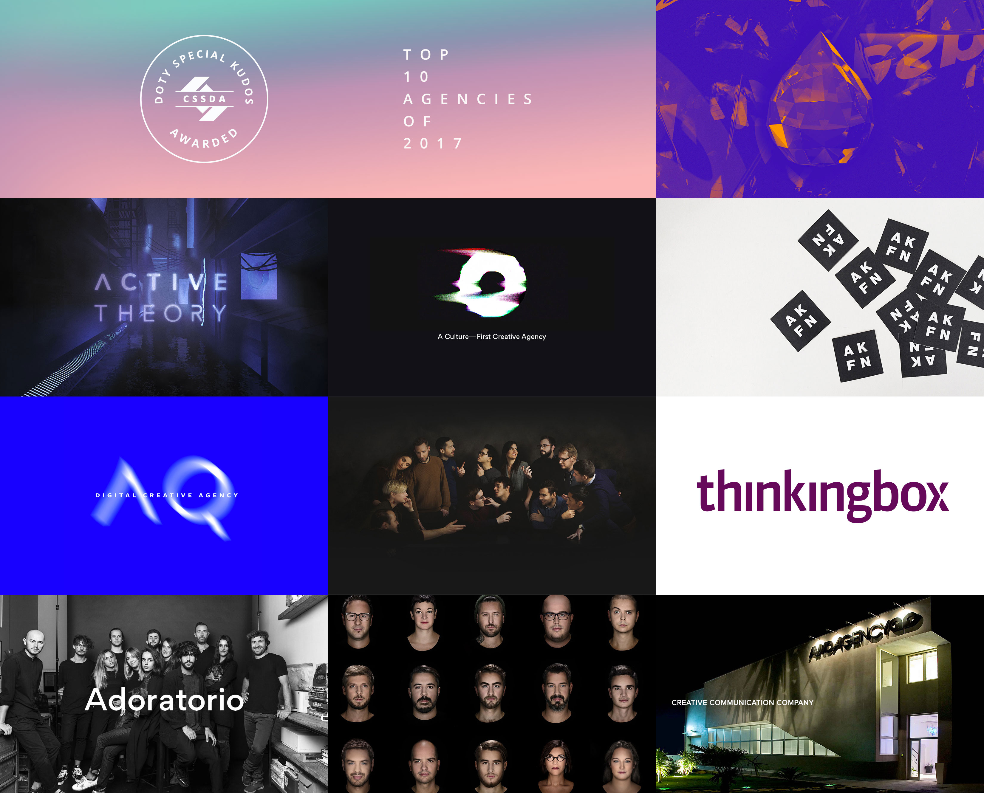 CSSDA DOTY 2017 - Top 10 Agencies