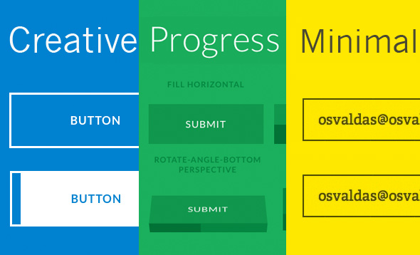 30 Tuts Css Amp Js Buttons And Form Element Round Up