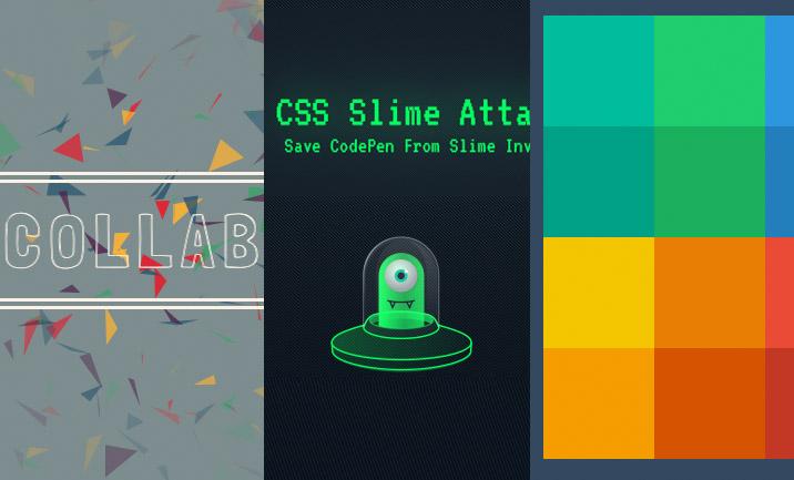 13 New CSS & JS Tuts & Experiments