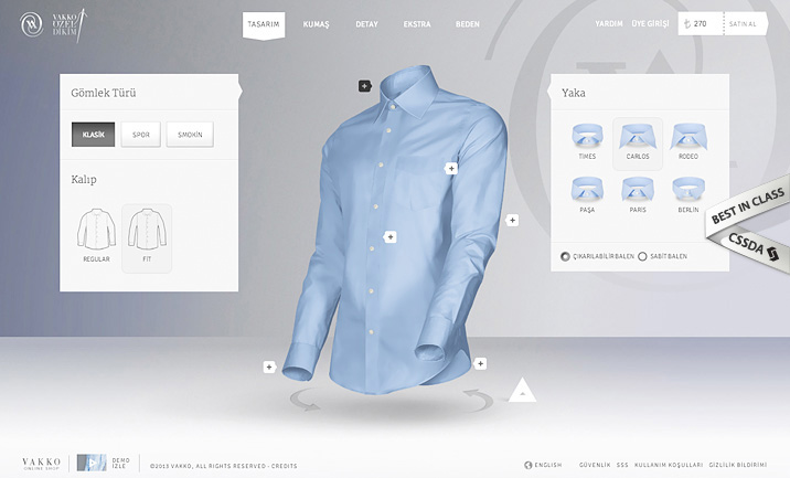 CSSDA - 2014 Best eCommerce Site