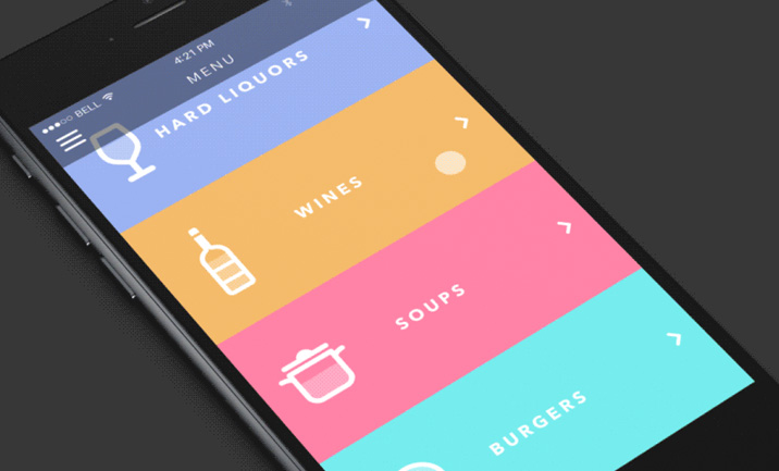 Cool app concept animations