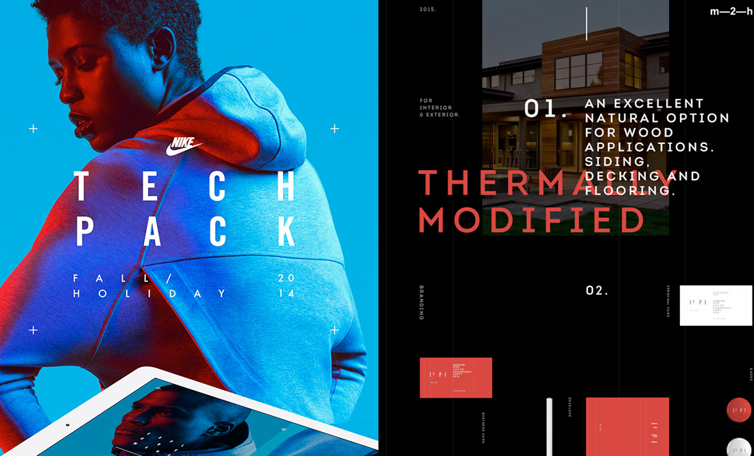 UI & Color Inspiration For 2016