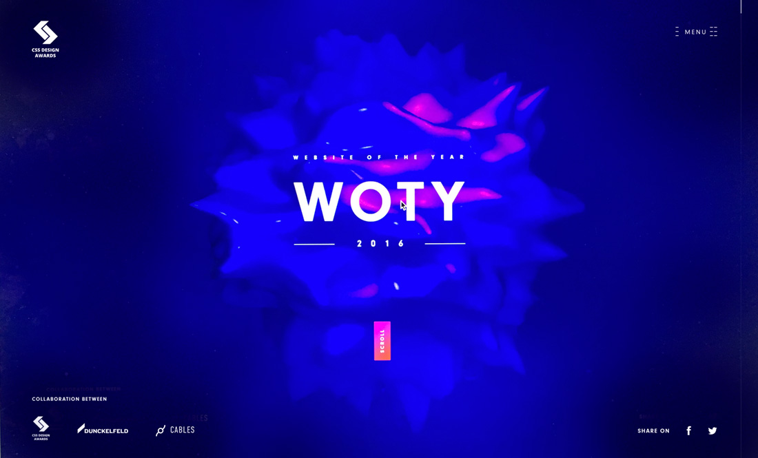 The New WOTY 2016 Showcase Site