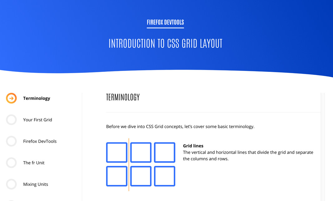 Introduction to CSS Grid Layout by Mozilla