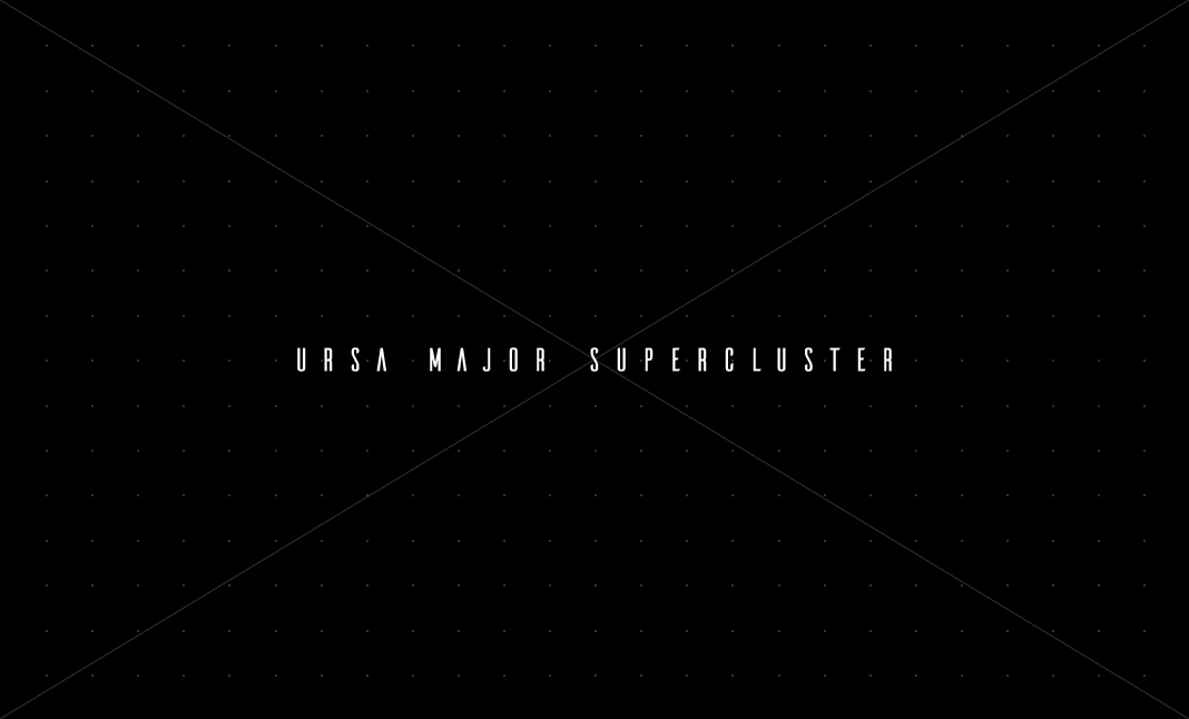 Deconstrukt #7: URSA MAJOR SUPERCLUSTER by Daniel Spatzek