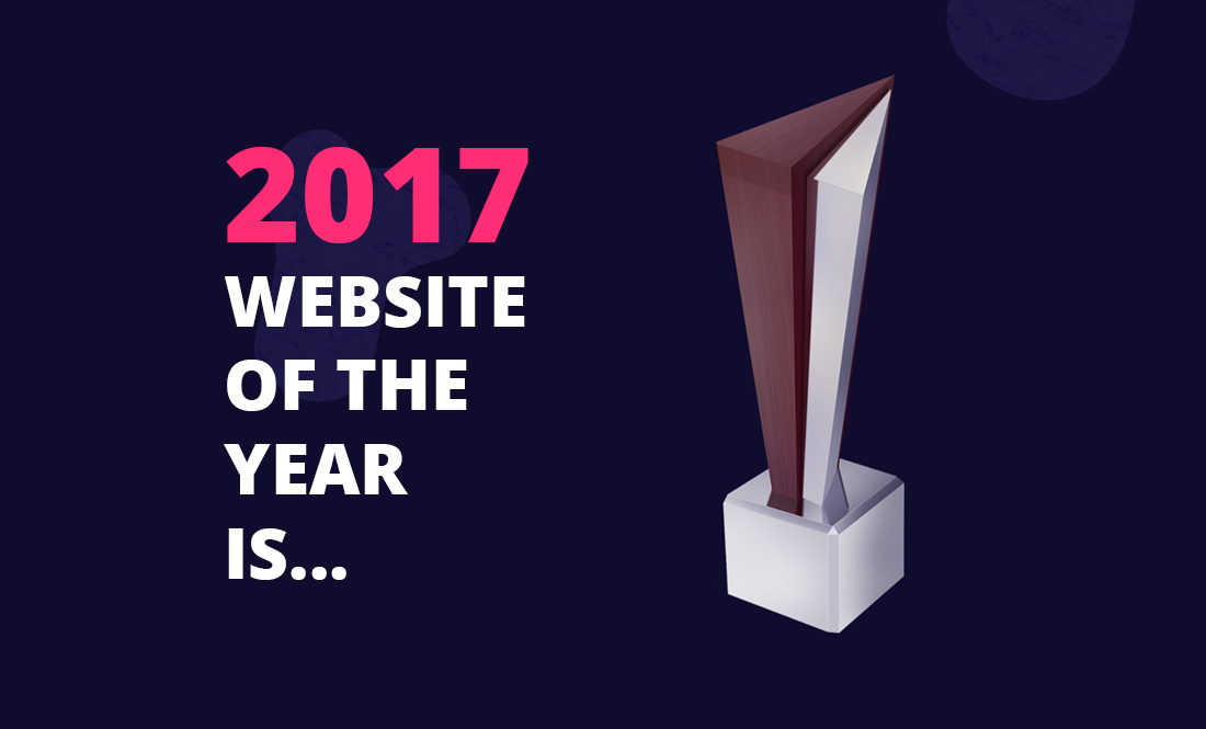 The winners of Website of the Year 2017 & state of play!