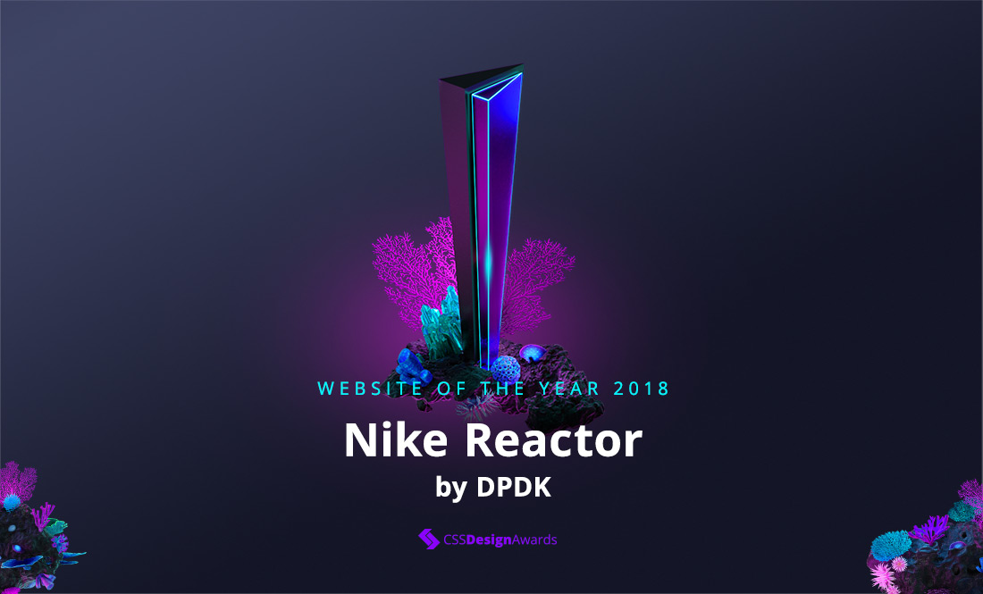 Website of the Year 2018 winners!