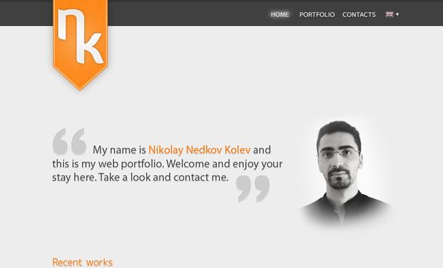 Website Design For Personal