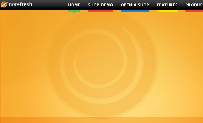 No refresh designed by vikash for T shirt design software for website