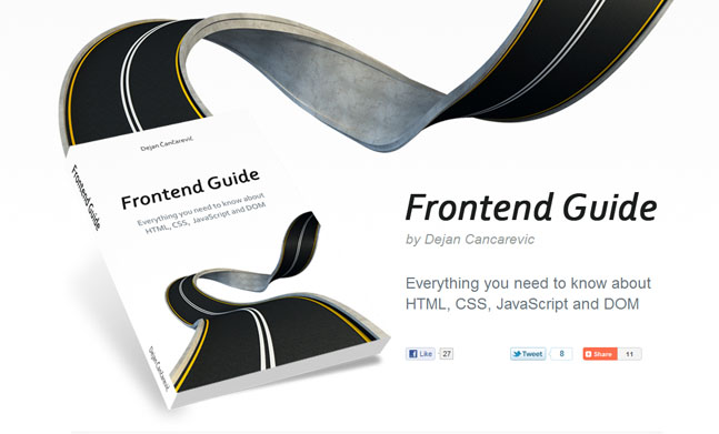 Frontend Guide Book   website